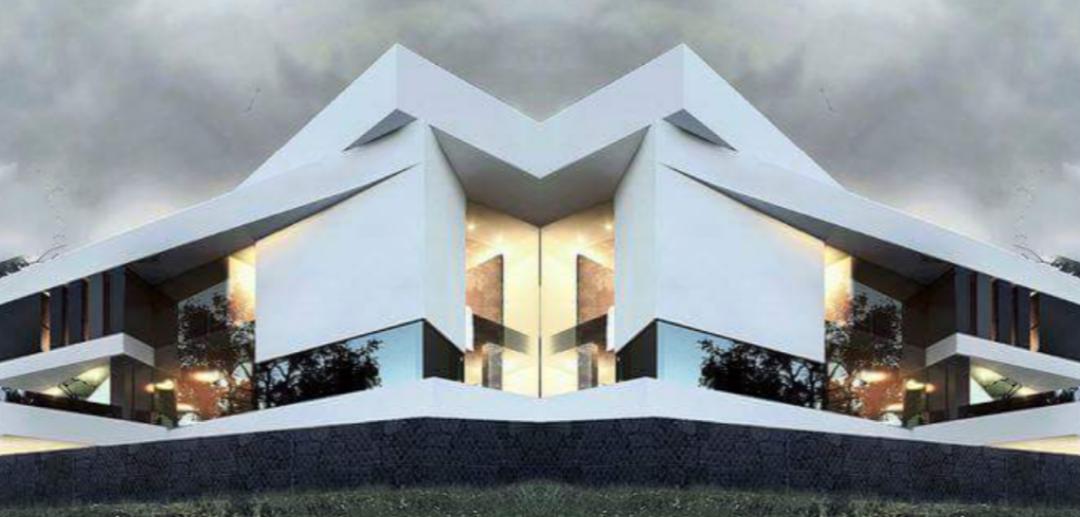 ULTRA MODERN ARCHITECTURE PREFAB VILLA (