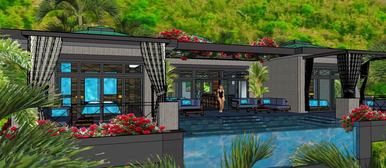 TORTOLA PROJECT - VER7 -  POOL CABANAS A