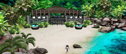 LUXURY ISLAND TROPICAL BEACH VILLA A4