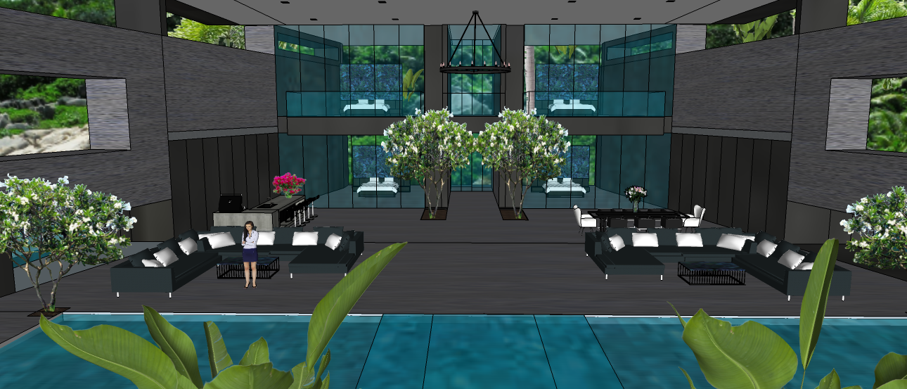 LUXURY TROPICAL VILLA1 5X