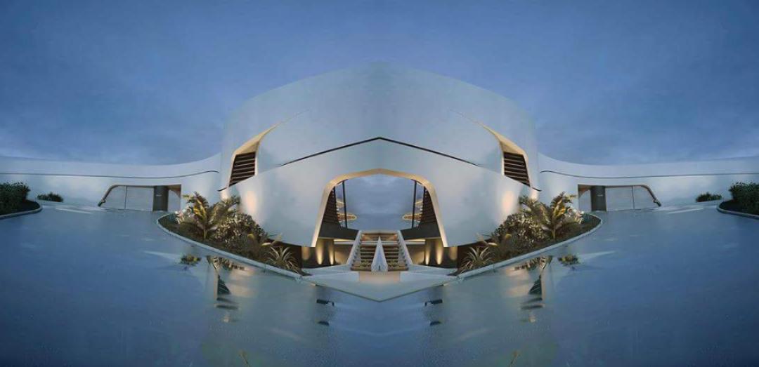 LUXURY PREFAB VILLA  BEACH HOMES (1)