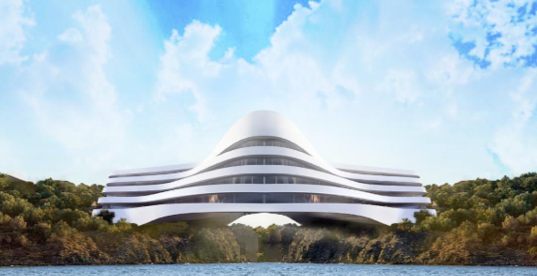 MODERN TROPICAL ISLAND APARTMENTS ARCHIT
