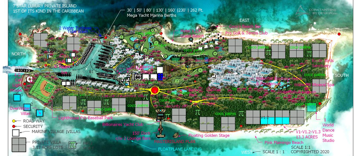 1 NEPTUNES  ISLAND MARINA MASTERPLAN