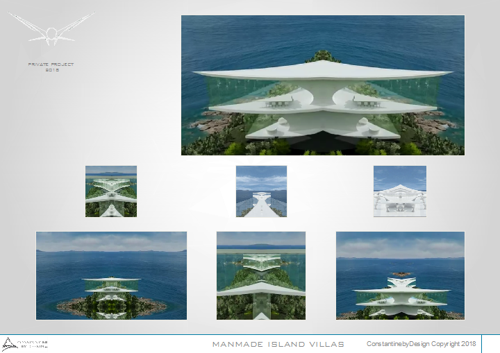 Constantinebydesign - MANMADE ISLAND VILLAS 1