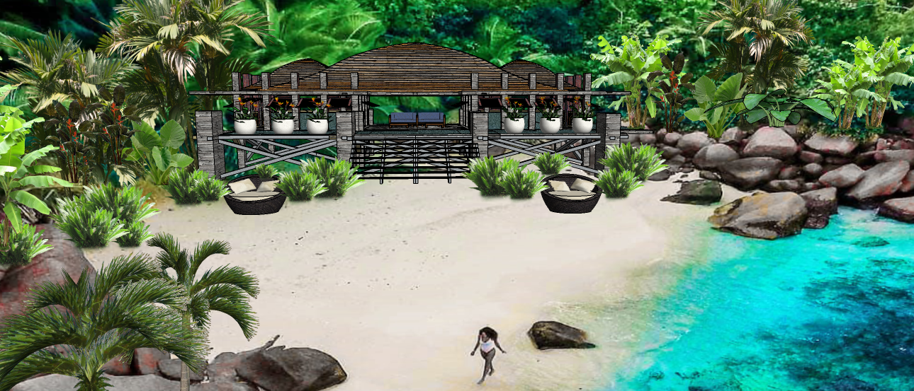 LUXURY ISLAND TROPICAL BEACH VILLA A1