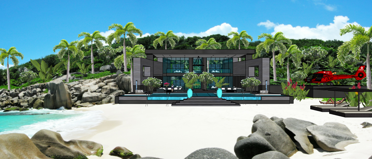 LUXURY TROPICAL VILLA1 7X