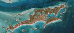 HALLS POND CAY EXUMAS DEMENSIONS AND ELE
