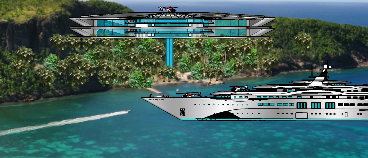 SKYFALL VILLA - PRIVATE ISLAND A1