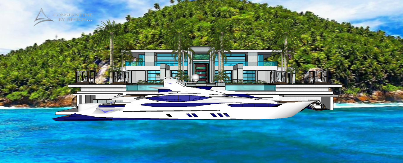 MODERN VILLA  X PROJECT CW DOCK