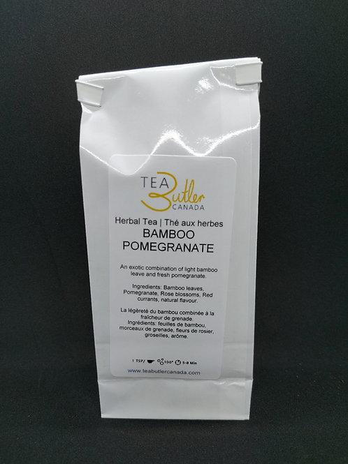 Bamboo Pomegranate Herbal Tea