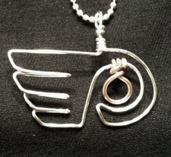 Flyers Wire pendant