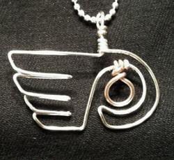 Flyers Wire pendant