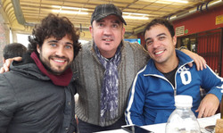 Gabriel Peso, Pablo Vidal, Ton Risco