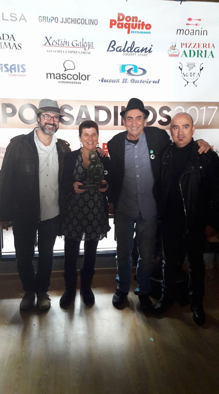 Tatán Chapeu premios Pousadiños
