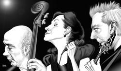 A DOCE VITA Caricatura by Gogue