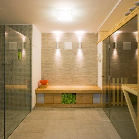 Lutron HomeWorks QS Suana Room