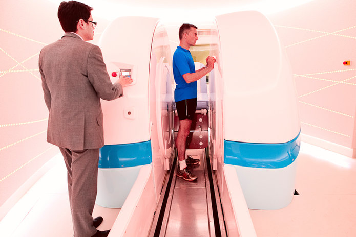 MRI Scanner with Rako Mood Lighting