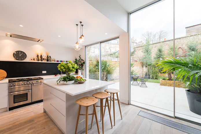 Lutron HomeWorks QS Kitchen