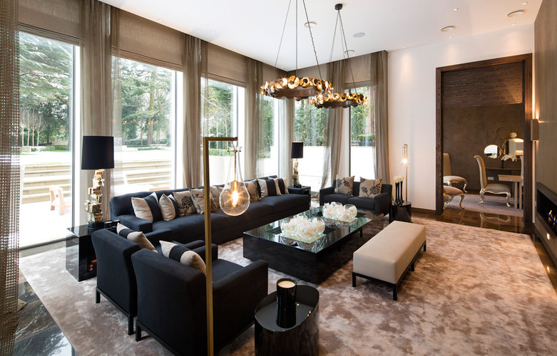 Highgate Lutron Living Room Installation