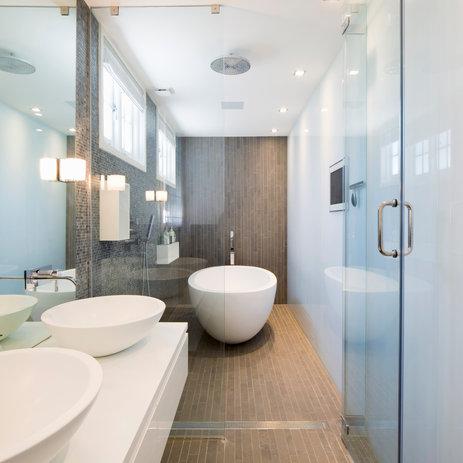 St Johns Wood Lutron Bathroom