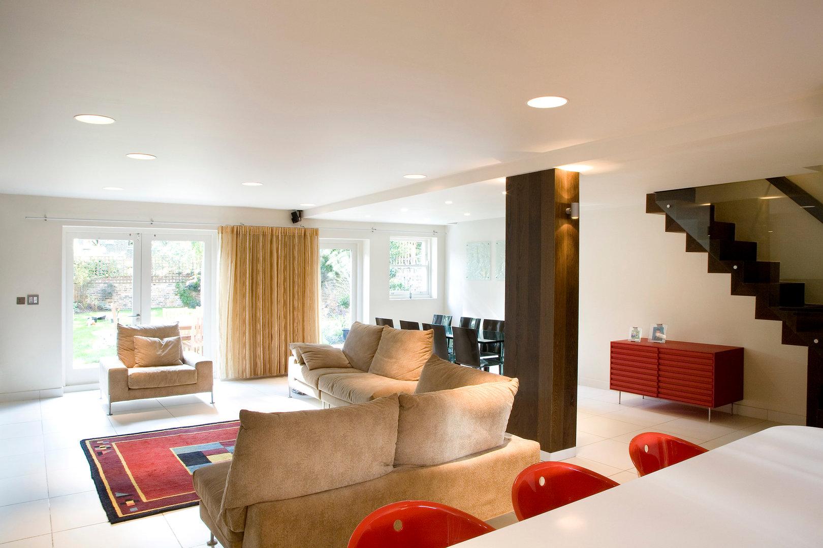 Highbury House Rako Lighting Living Room