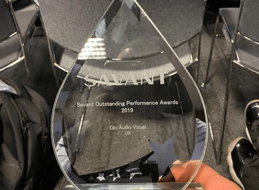 Glo Audio Visual Wins SAVANT Award in Amsterdam