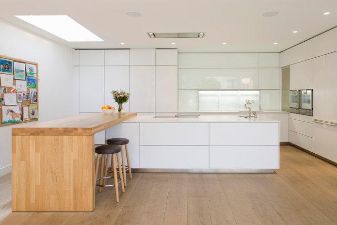 Highbury Hill N5 Plaster in Orluna Downlights (kitchen)
