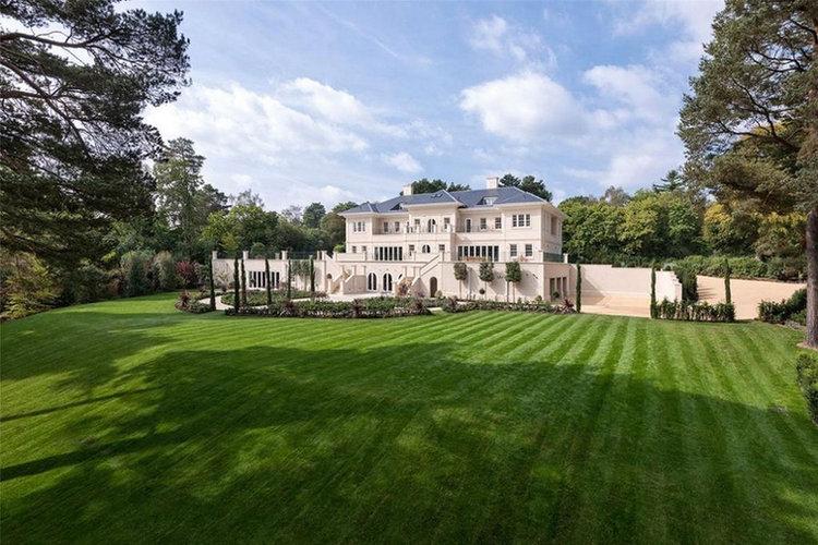 Woodrow Mansion Rear View Garden