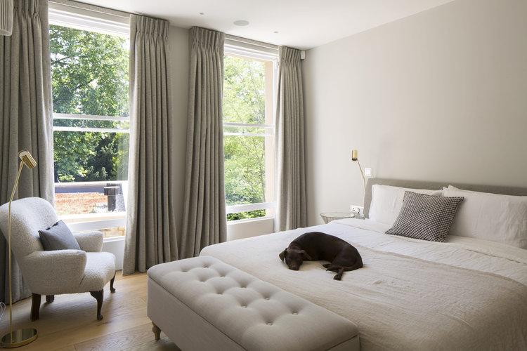 Alwyne Place N1 Bedroom Savant & Lutron