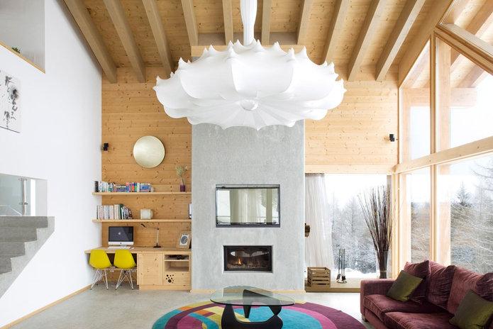 La Tzoumaz, Switzerland Lutron HomeWorks QS