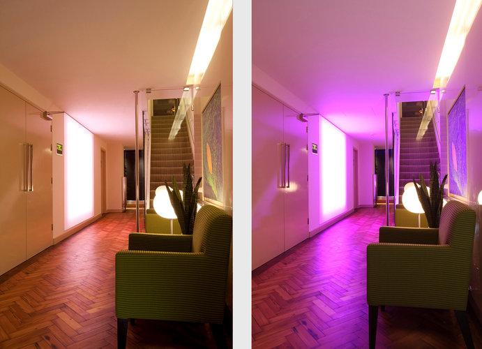 Harley Street Rako Lighting Hallway
