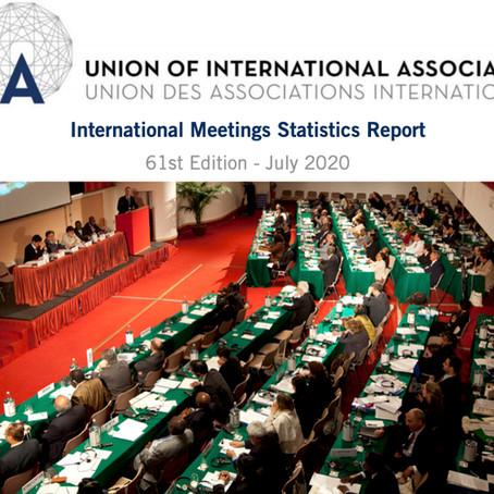 Forte crescita  dei congressi internazionali nel mondo: +11% nel 2019