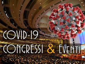 COVID-19 Buone pratiche igienico-sanitarie per  congressi ed eventi