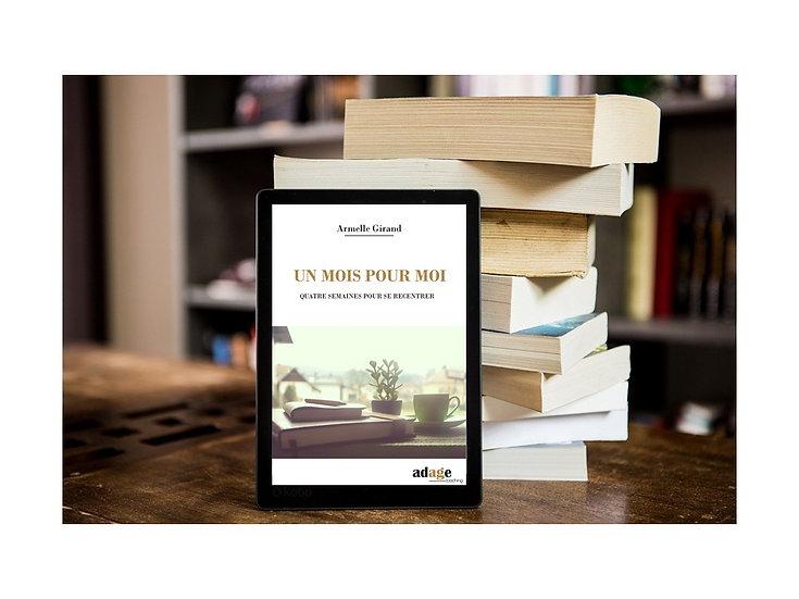 E-book GRATUIT  Un mois pour moi Version numérique