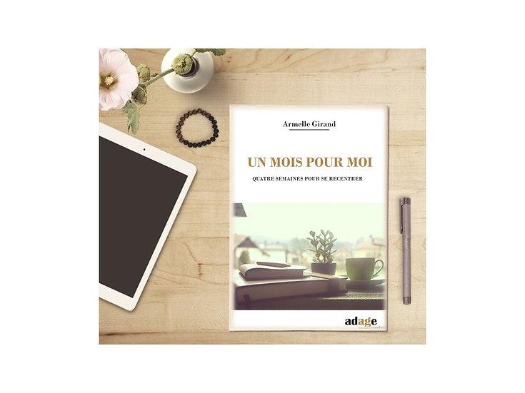 E-book GRATUIT Un mois pour moi Version imprimable