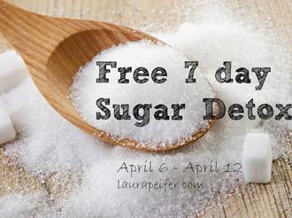 Free 7 Day Sugar Detox