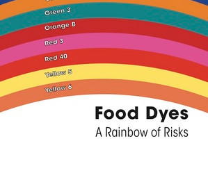 Watch for artificial food dyes with Halloween this week!