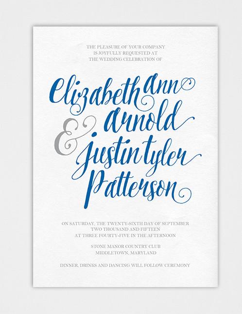 wedding invite script