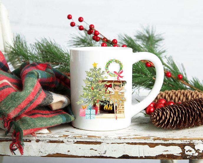 Ballerina Christmas Mug