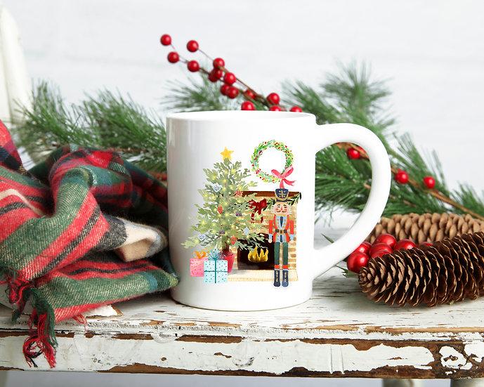 Nutcracker Christmas Mug