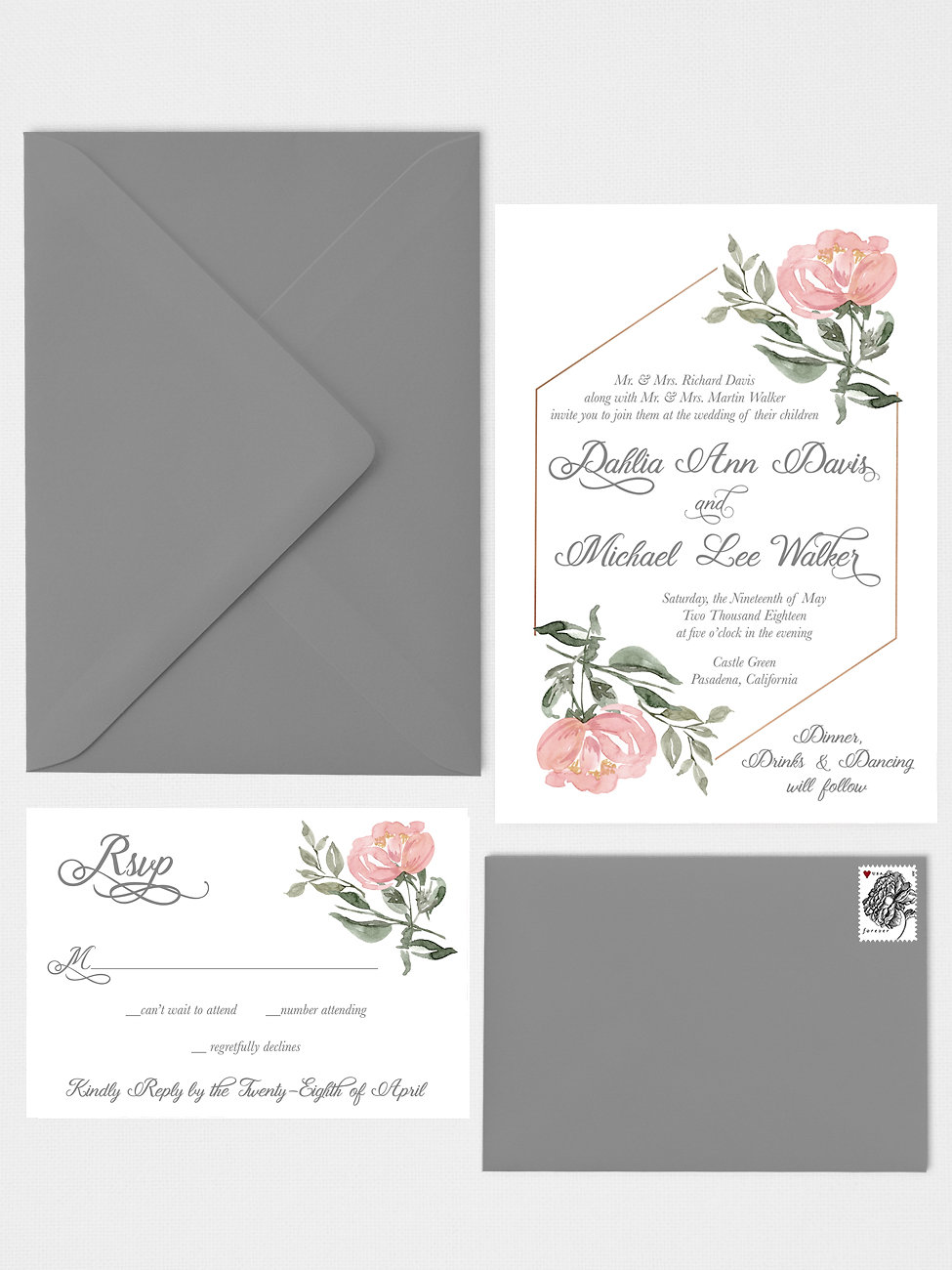 Simply Paper Company | Custom Wedding Invitations & Stationery ...