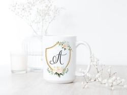 Custom Crest Mug