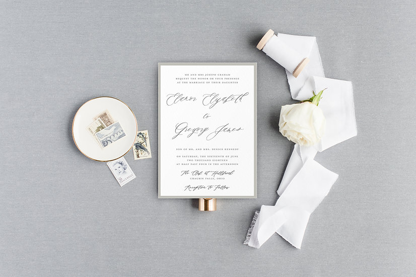 Colored Invitation Mat