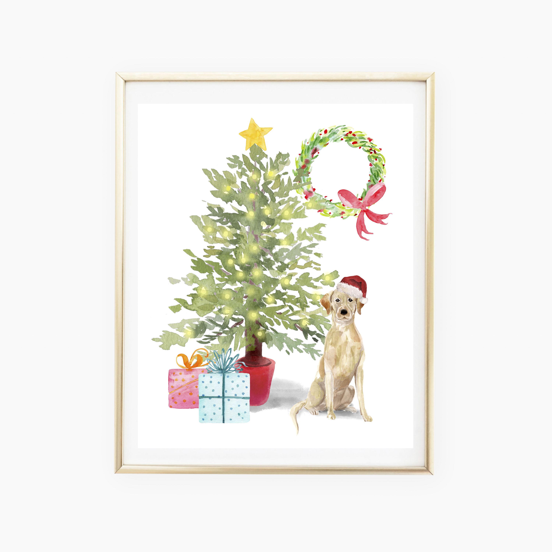 Custom Christmas Pet Print
