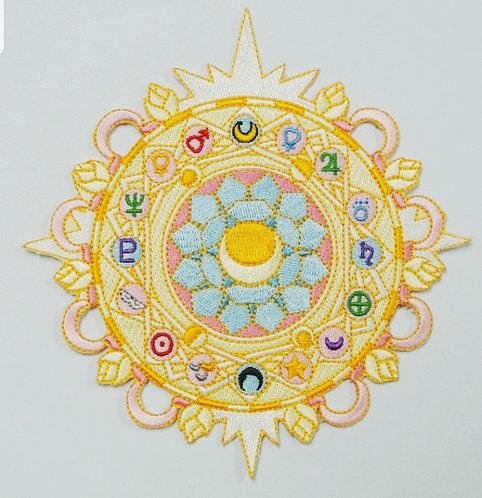Moon Magic Circle Patch