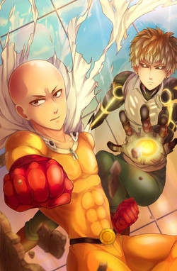 One Punch Man Painting