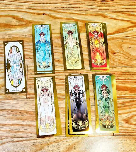 Double Sided Gold Foil CCS Bookmarks