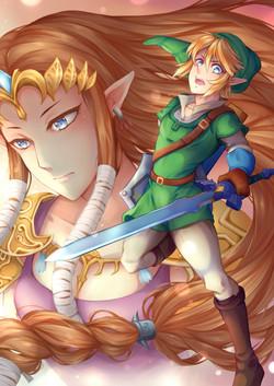 Zelda Painting