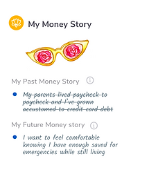 Are you looking at your finances with rose tinted glasses? What is your financial story and how to do you plan to change it