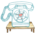 VIP Phone illustration - Join the AFIREfi Community